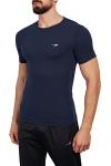 18B-1057 Koyu Lacivert Erkek T-Shirt
