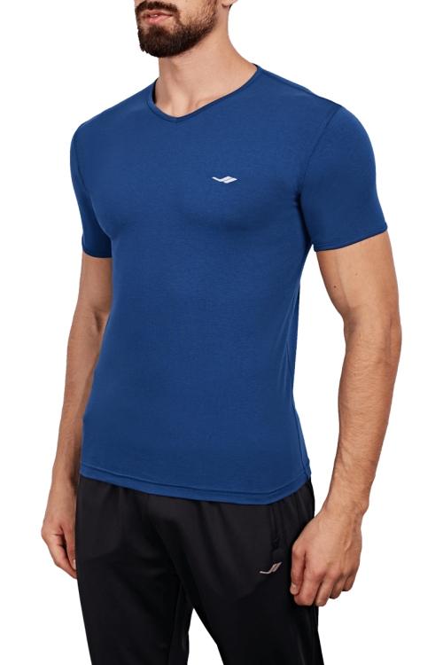 18B-1063 İndigo Erkek T-Shirt
