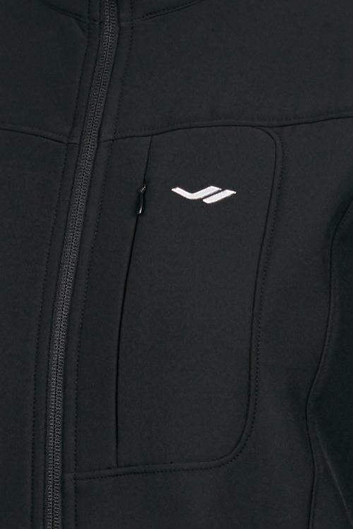 Siyah Kadın Fermuarlı Sweatshirt 18K-2057