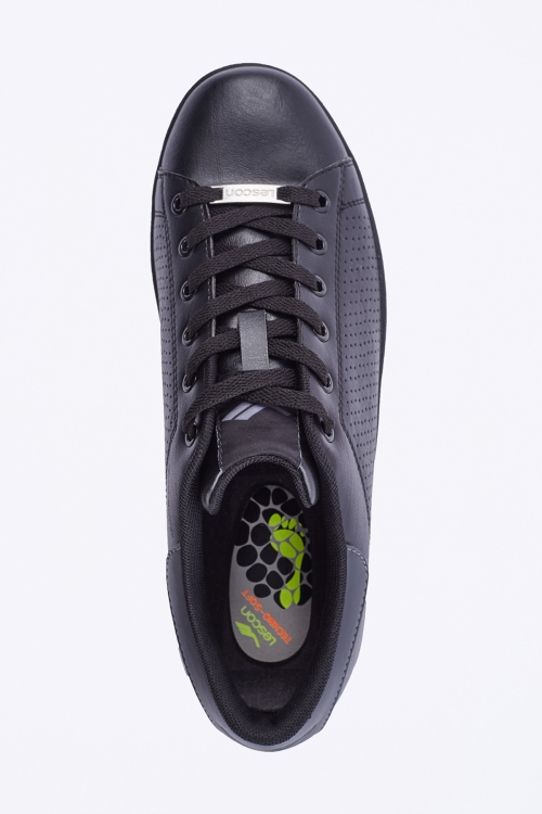 L-6128 Siyah Bayan Sneaker Ayakkabı