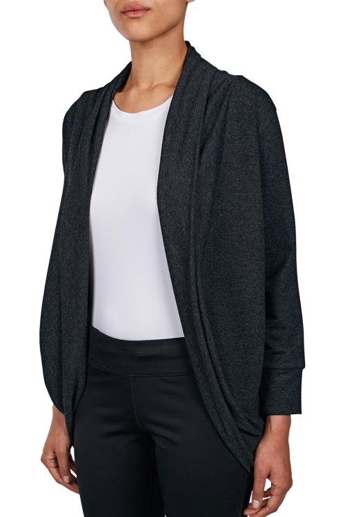18N-2021 Siyah Bayan Hırka