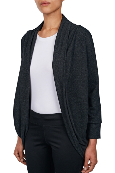 18N-2021 Women Cardigan Black