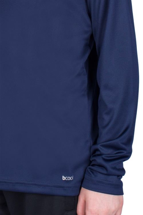 18S-3222 Lacivert Çocuk Uzun Kollu T-Shirt