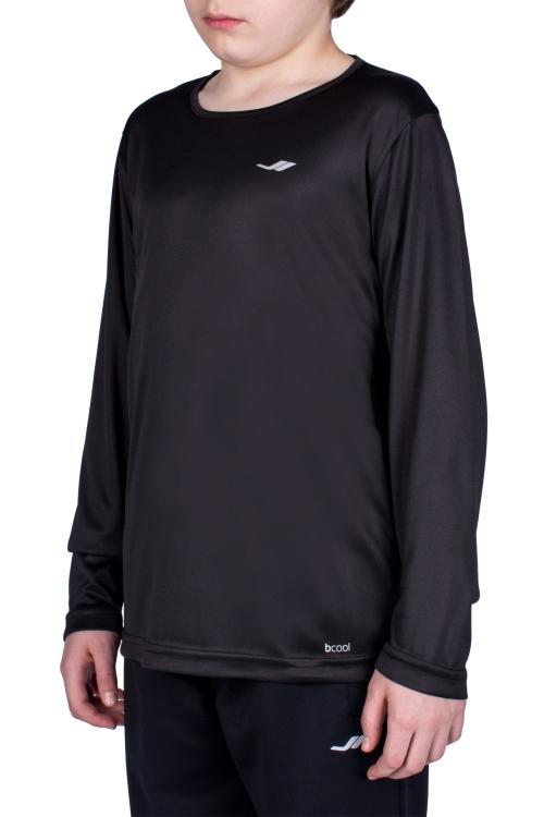18S-3222 Siyah Çocuk Uzun Kollu T-Shirt