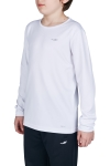 18S-3233 Beyaz Çocuk Uzun Kollu T-Shirt