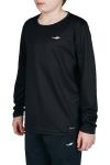 18S-3233 Siyah Çocuk Uzun Kollu T-Shirt