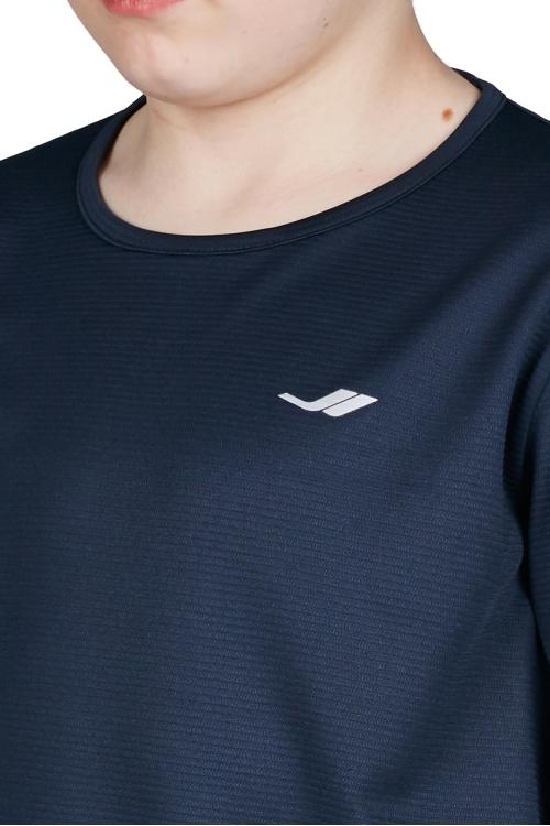 18S-3233 Koyu Lacivert Çocuk Uzun Kollu T-Shirt