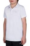 18S-3251-18N Beyaz Çocuk Kısa Kollu Polo Yaka T-Shirt