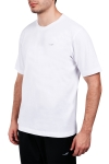 18S-1202-18N Beyaz Erkek Kısa Kollu T-Shirt