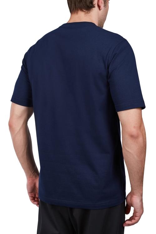 18S-1202-18N Lacivert Erkek Kısa Kollu T-Shirt