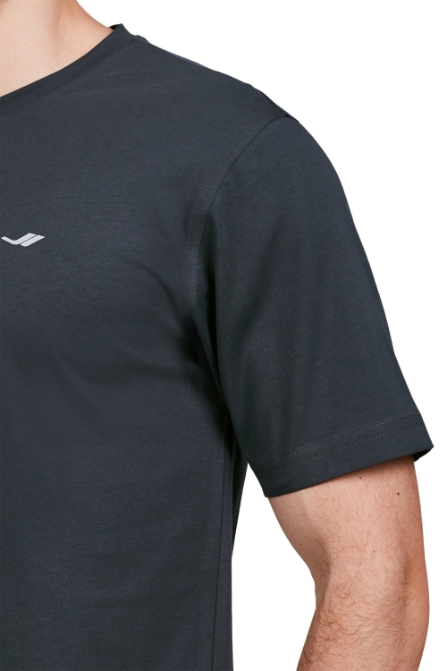 18S-1202-18N Antrasit Erkek Kısa Kollu T-Shirt
