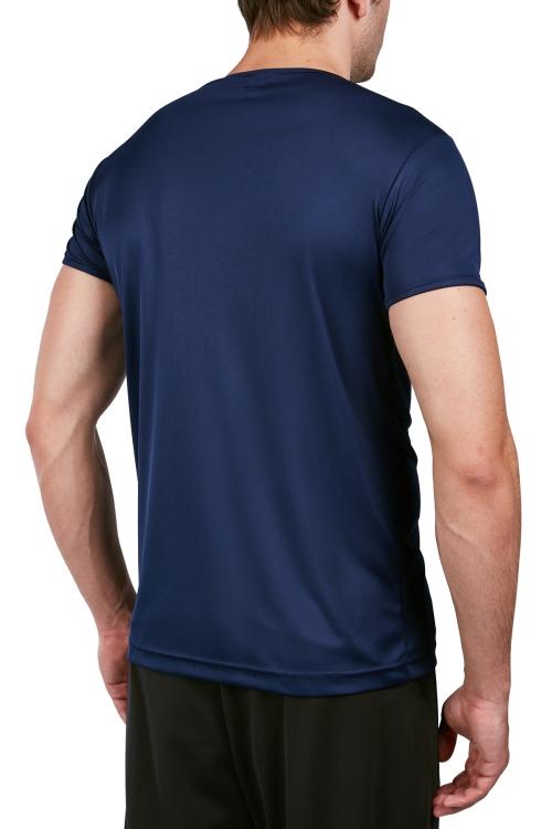 18S-1220-18N Lacivert Erkek Kısa Kollu T-Shirt