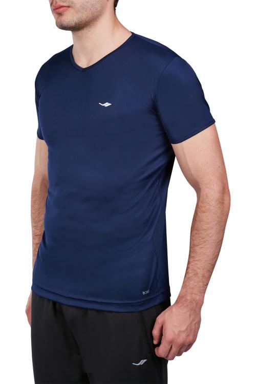 18S-1221-18N Lacivert Erkek Kısa Kollu T-Shirt