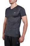 18S-1221-18N Antrasit Erkek Kısa Kollu T-Shirt