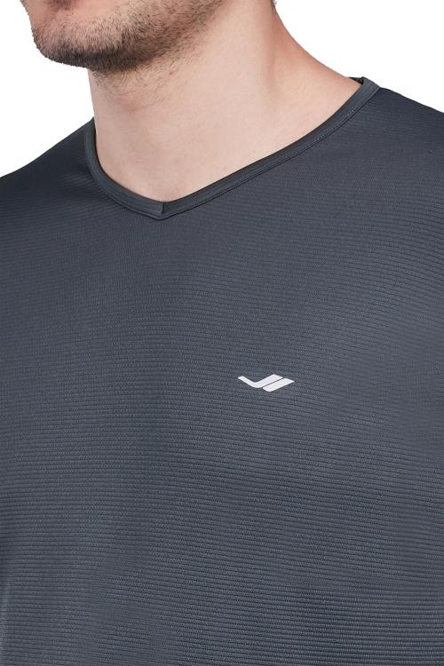 18S-1225 Men T-Shirt Grey