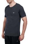 18S-1227 Antrasit Erkek Kısa Kollu T-Shirt
