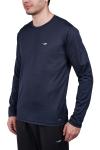 18S-1233 Men T-Shirt Navy blue