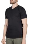 18S-1244-18N Siyah Erkek T-Shirt