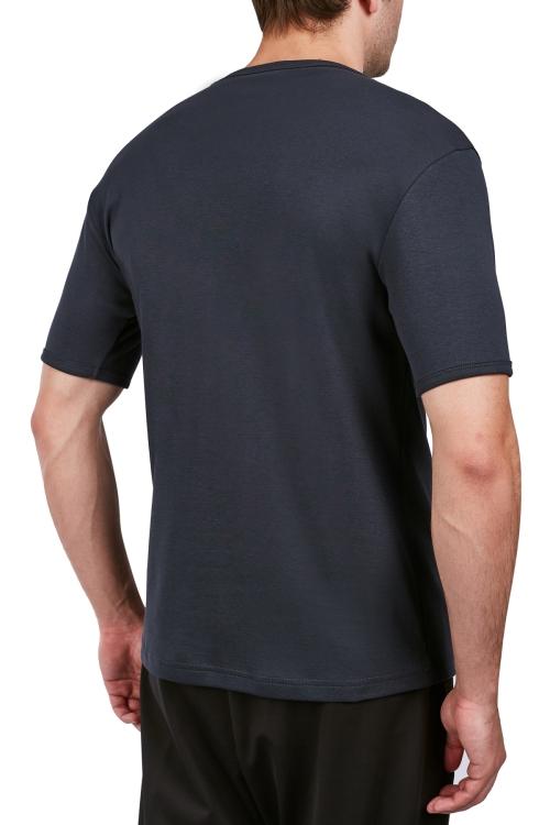 18S-1245 Antrasit Erkek Kısa Kollu T-Shirt