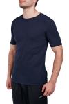 18S-1245 Koyu Lacivert Erkek Kısa Kollu T-Shirt