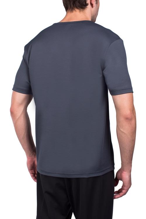 18S-1249-18N Antrasit Erkek Kısa Kollu T-Shirt