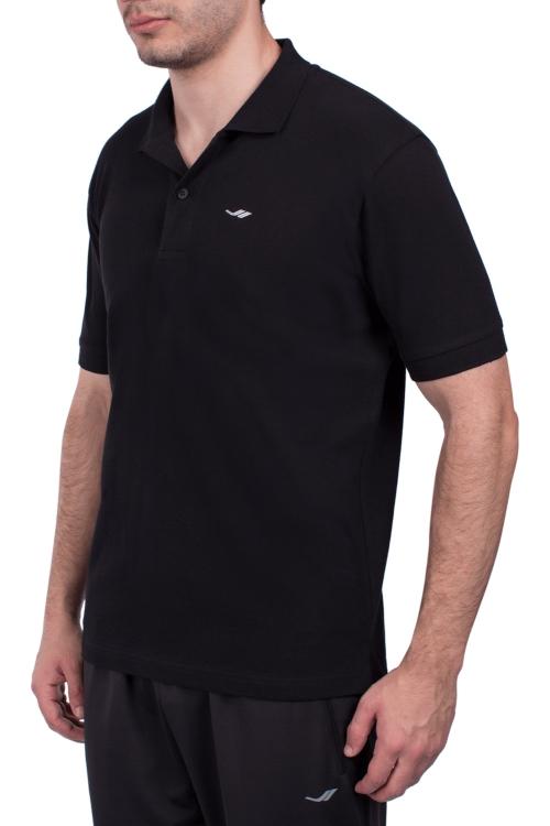 18S-1251-18N Siyah Erkek Kısa Kollu Polo Yaka T-Shirt