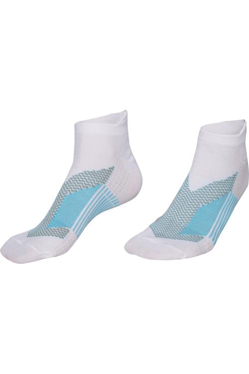La-2200 Beyaz 2'li Spor Çorabı 36-40 Numara