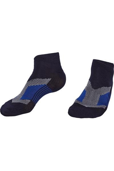 La-2200 2 Pack Sports Socks Black 36-40 Number