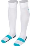 La-2171 Beyaz Turkuaz Futbol Çorabı 40-45 Numara