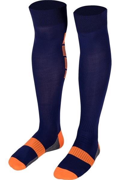 La-2171 Football Socks Blue Orange 40-45 Size