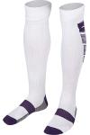 La-2171 Beyaz Mor Futbol Çorabı 40-45 Numara