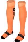 La-2171 Fosfor Turuncu Siyah Futbol Çorabı 40-45 Numara