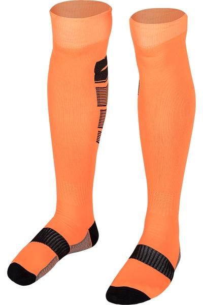 La-2171 Football Socks Orange Black 40-45 Size