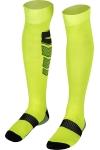 La-2171 Fosfor Yeşil Siyah Futbol Çorabı 40-45 Numara