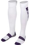 La-2173 Beyaz Mor Futbol Çorabı 36-40 Numara
