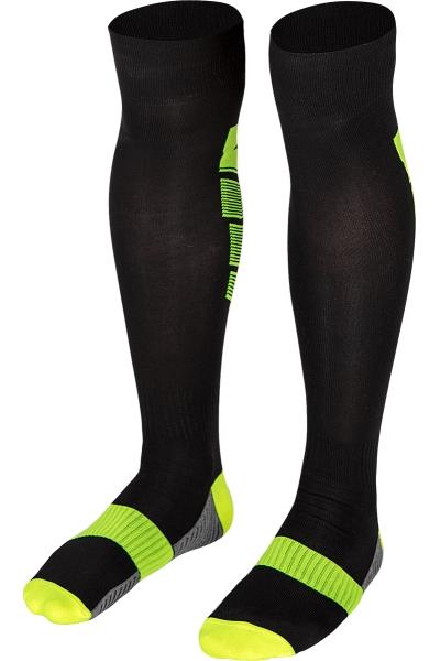 La-2173 Siyah Fosfor Yeşil Futbol Çorabı 36-40 Numara