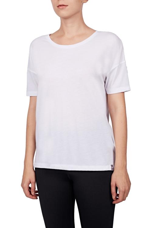 18Y-2161 Beyaz Bayan T-Shirt