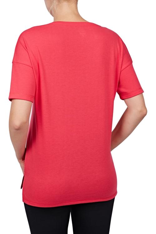 18Y-2161 Fuşya Bayan T-Shirt