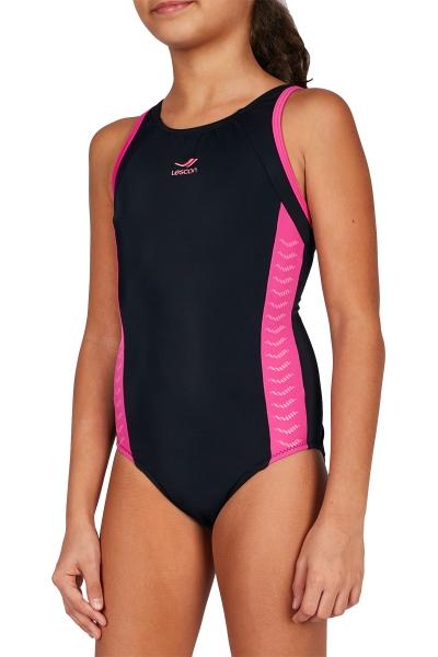 18Y-3058 Siyah Çocuk Yüzücü Mayo