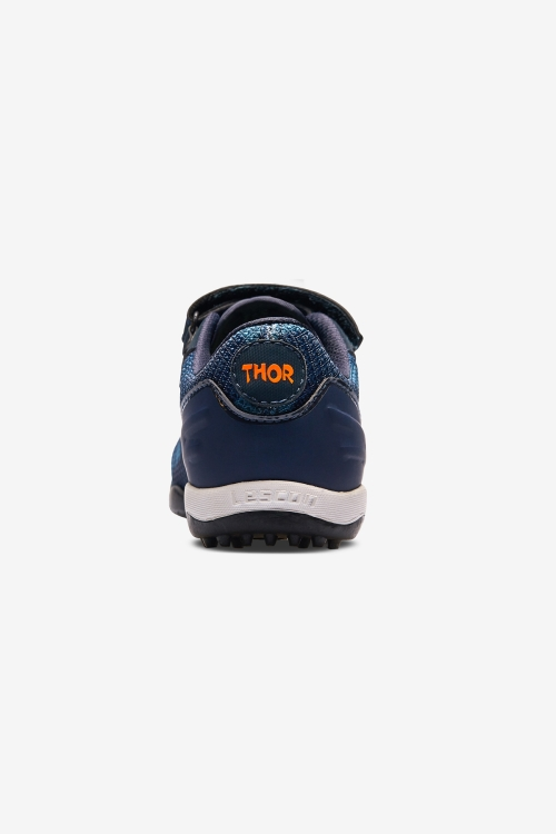 Thor-030 H-19B Lacivert Çocuk Halı Saha Ayakkabısı