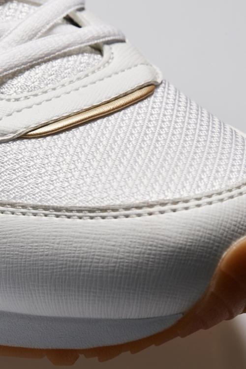 L-6528 Beyaz Erkek Sneaker Ayakkabı