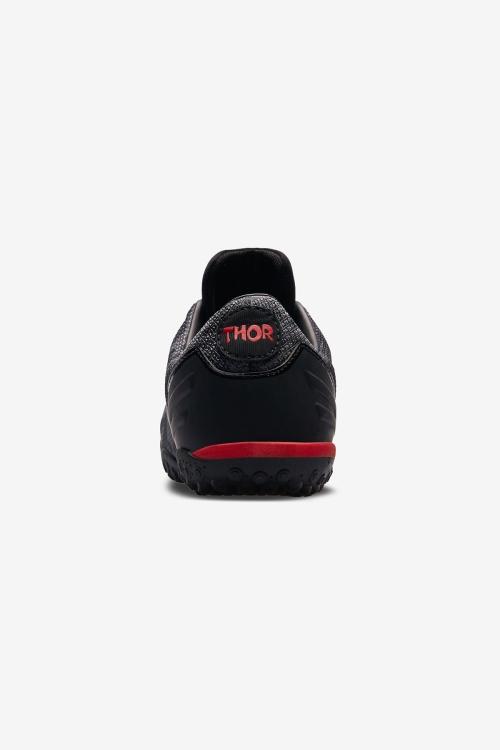 Thor-016 H-19B Siyah Unisex Halı Saha Ayakkabısı