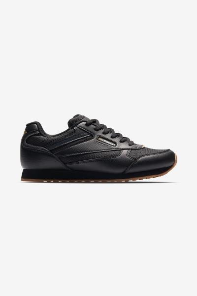 L-6618 Siyah Bayan Sneaker Ayakkabı