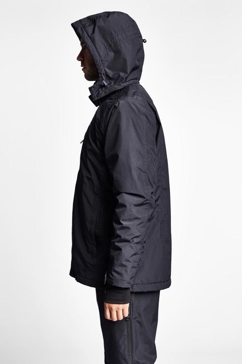 Siyah Waterproof Erkek Kaban 19K-1064-18K