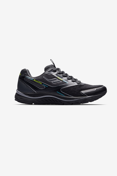 Women Space Runner Running Shoes Black