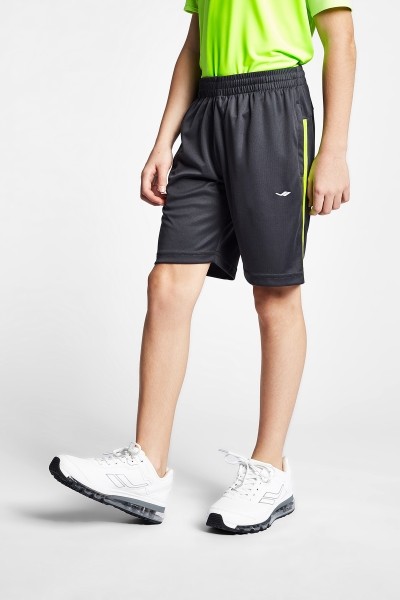 19S-3224-19N Kid Shorts Grey Green
