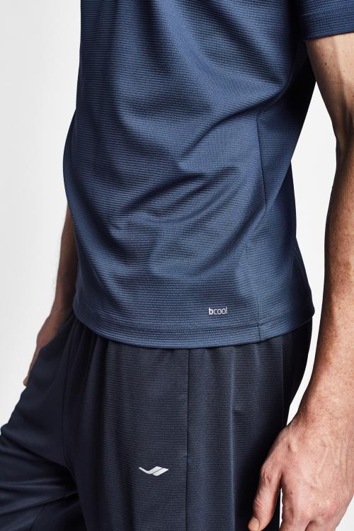 19S-1231-19N Mürekkep Erkek Kısa Kollu T-Shirt