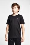 19S-3249-19B Siyah Çocuk Kısa Kollu T-Shirt