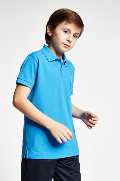 19S-3251-19B Kid T-Shirt Blue