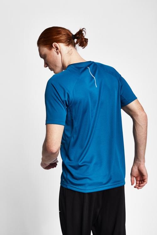 19Y-1005 Mavi Erkek Kısa Kollu T-Shirt